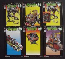 SPAWN 1 TOY PROMO COMICS X 6...VF/NM-...1994...McFarlane...Scarce Bargain!