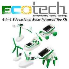 ECOTech 6-in-1 Educational Solar Powered Toy Kit