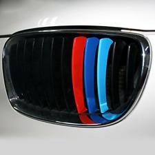 3X For BMW X5 E53 M3 M5 M6 E39 E46 PVC Front Grill Stripe Decal M Sport Stickers