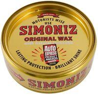 Simoniz Original Wax Car Polish Tin with Natural Carnauba 150g  since 1910