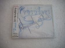 THE CRUSADERS - RHAPSODY AND BLUES - JAPAN CD