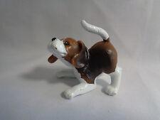 Barbie Dollhouse Brown White Basset Hound Puppy Dog Pet