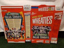RARE 1993 Dallas Cowboys SB Champs Series #97 18 Oz. Wheaties Factory Flat!