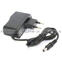 EU Plug AC 100-240V Vers DC 9V 1A 1000mA Secteur Prise Adaptateur Chargeur+Cable