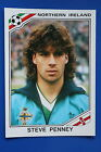 Panini WC MEXICO 86 STICKER N. 285 NORTHERN IRELAND PENNEY VERY GOOD/MINT