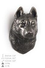 Siberian Husky, dog statuette to hang on the wall, Art Dog Limited Edition, Usa
