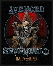 Avenged Sevenfold-Patch ricamate-Hail to the King 8x10cm