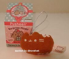PUSHEEN GINGERBREAD COOKIE SURPRISE PLUSH SERIES 2 NEW CHRISTMAS ORNAMENT CAT