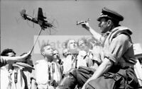 WWII photo German pilots training session 356