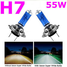 2 PCS H7 6000K Xenon Gas Halogen Headlight White Car Light Lamp Bulbs 55W 12V AL