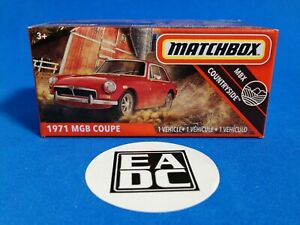 2020 MATCHBOX POWER GRABS 1971 MGB COUPE EADC