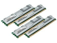 4 x 4 GB 16 GB 2Rx4 FB DIMM RAM di memoria che DDR2 PC2-5300F di 667 MHz ECC fully buffered