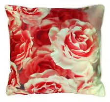 Stunning Austin Rose Square Scatter Cushion Pillow Throw  Home