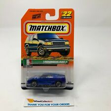 Lamborghini Diablo #22 * Blue * Matchbox * JD17