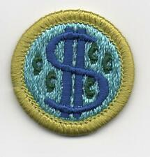 Consumer Buying Merit Badge, Type H, Clear Plastic Back  (1975-1995), Mint!
