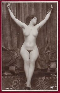 1920s Antique Art Deco Risque Photo~Jean Agelou~Perfect Body Flapper Perky Pinup