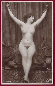 1920s Antique Art Deco Risque Photo~Jean Agelou~Perfect Body Flapper Perky Pinup