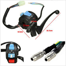 "Universal 7/8"" Motorcycles Left Brake Lever Light Switch Control For 50cc 150cc"