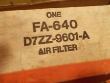 77 1977 Ford Mustang NOS New Air Filter Element  FA-640 D7ZZ-9601-A 5.0 302 V8