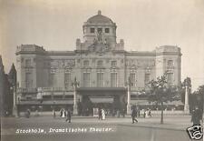 19723/ Originalfoto 17x12cm, Stockholm, Dramatisches Theater, 1912