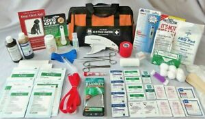 Pro Model #1000 Sport Dog First Aid Kit - Mfg by Outdoor Safety (K-9, Canine)