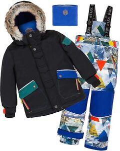 Deux par Deux Boys 2-Piece Thermal Underwear Set Sizes 2-14