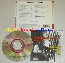 CD MONTSERRAT TORRENT Organ recital BACH SOLER DE CABEZON ERMITAGE lp mc dvd