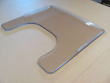 Wheel Chair Tray, 3/8 Lexan, Size 20.50 W X 17.875, Rims Included, USA Made.
