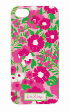 LILLY PULITZER IPhone 5 GARDEN BY THE SEA Mobile Cell Phone Cover Case Pink NEW
