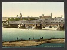 The Iron Bridge Ii Warsaw A4 Photo Print