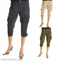 Pantaloni Capri Donna Sexy woman Jeans Shorts P614101-B532 Tg 38 40 44