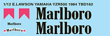 1/12 EDDIE LAWSON YAMAHA YZR500 1984 DECALS TB DECAL TBD162