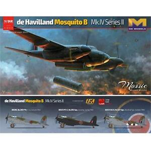 HK Models de Havilland Mosquito B Mk IV Series II Plastic Model Airplane Kit