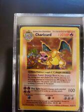 Shadowless Charizard 4/102 Holo Base Set Pokemon Card 1999 LP