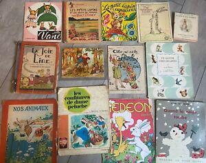 gros lot enfantina livres pour enfants anciens
