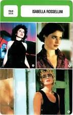 FICHE CINEMA :  ISABELLA ROSSELLINI -  Italie (Biographie/Filmographie)