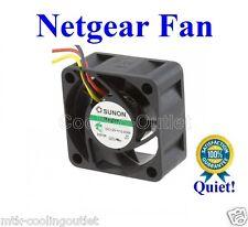 Quiet! Netgear FS728TP FAN 1x new fan only 12dBA Noise level
