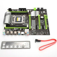 Desktop Motherboard CPU LGA2011 DDR3 DIMM Gigabit USB 8Pin REG ECC for Xeon I7