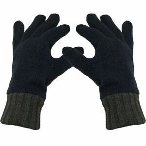 Pro Climate Thinsulate 3M Mens Knitted Warm Thermal Fleece Lined Gloves