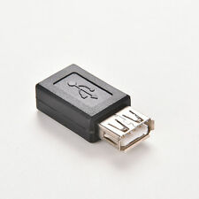 Hot Sale USB 2.0 A Female to Micro USB B 5 Pin Female Data Adapter Convertor RCA