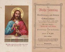 Fecht: Der Weiße Sonntag - Belehrungen und Gebete   1888