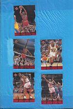 MICHAEL JORDAN 1998 UPPER DECK MJX TIMEPIECES BRONZE 4 DIF CHICAGO BULLS