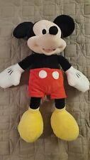 "DISNEY Mickey Mouse 20""  Plush Classic Red pants yellow shoes & white gloves"