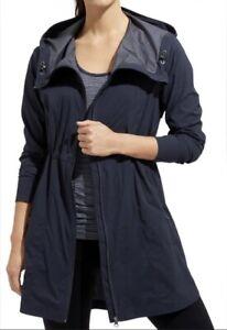 Athleta Women's Overcloud Rain Jacket - Dark Navy - Size XXS