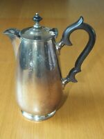 Vintage silver plated COFFEE POT Large  classical by James Dixon Sheffield EPBM