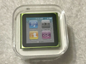 Apple iPod Nano 6th Generation Green 8 GB MC690LL/A MC690CH/A MP3 Media Player..