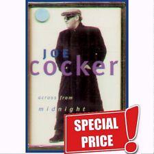 "JOE COCKER "" ACROSS FROM MIDNIGHT "" MUSICASSETTA SIGILLATA  RARO"