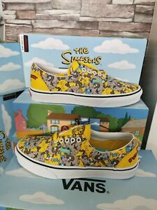 VANS Era THE SIMPSONS ITCHY AND SCRATCHY TRAINER'S SIZE UK 6