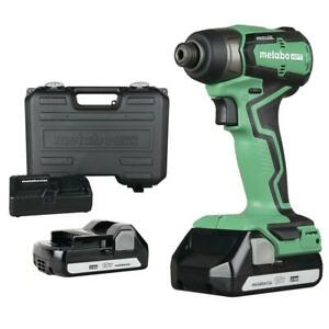Metabo HPT WH18DDXM 18V 1/2 in Cordless Lithium-Ion Impact Wrench Kit