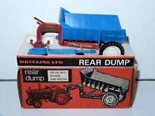 BRITAINS FARM No 9629 SHAWNEE POOLE REAR DUMP MIB 1/32 1960s ENGLAND HTF